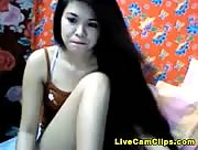 Hannaraya Filipina Cam Girl Striptease