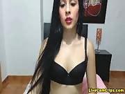 LatinAdictionSex Teen Latina Webcam Performer Striptease!