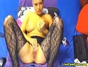 TracySquirt Horny Blonde Webcam Babe Spreading!