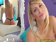 Olivianna Busty Blonde Hottie Freecam Show!