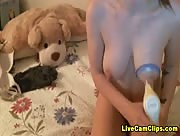 Lexii18 Milking My Tits Webcam Tube Video