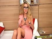 PetiteKarina Your Hot Blonde Teacher Livecam Girl