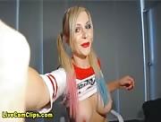 LindsayStrip4U Halloween Special: Your Harley Quinn Livecam Girl
