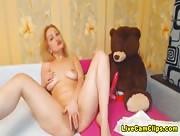 Dominikaz Her Teddy Got Some Bink Pink Dildo Livecam Tube