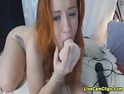 LilaSage Horny Redhead Cam Model Play Time