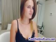 KatrineForYou Lovely And Sexy Babe Hot Striptease