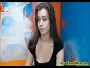 FlexibleJessica Amateur Teen Spreading Wide Open