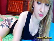 Little_Katty Modest Blonde Babe Becomes Naughty In Her Cam Show