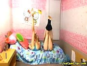 Kelly_Frost Two Teens Stripping