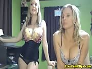 Britneyathome And BriannaRay Busty Babe's Cam Tube