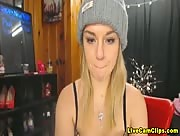 Heatherbby Teen Blonde Will Feel You Warm Webcamclip