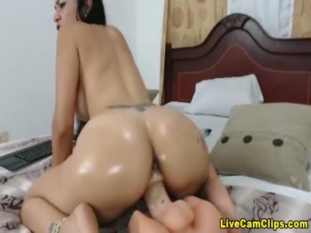Anal Riding Dildo Heels