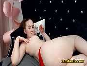 ArielLyn Blonde Babe Is Deviously Sexy On Her Cam Show