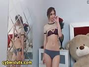 ChristinaDoll Hot Strip Show