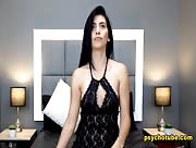 CristinaLarson - Gorgeous Brunette And Her Lusty Performance Live