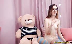 Ariana_X_Petite Petite Blonde Favorite Teddy Bear Sex Mate